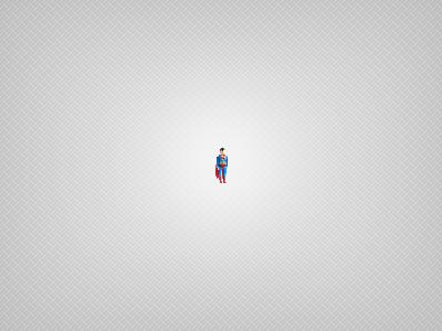 Superman superman super hero pixel