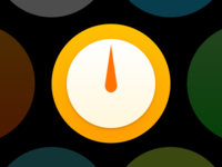 Simple Scales Watch Icon