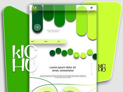 WEBPAGE LANDING PAGE branding logo vector christeena illustration chumma.design chumma illustrator design