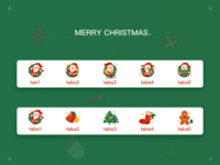 christmas design icon ui illustration
