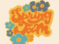 Visual identity for Walla Walla University's Spring Jam 2017.