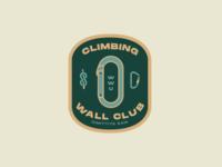 Climbing Wall Club Badge