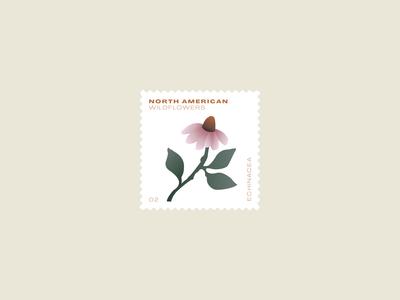 Wildflower stamp