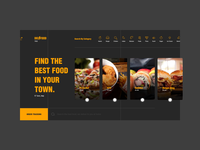 Food Delivery - Landing Page