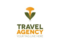 Travel Agency concept logo