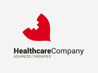 Healthcare Company - Logo template