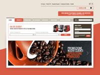 Coffee e-commerce ui design