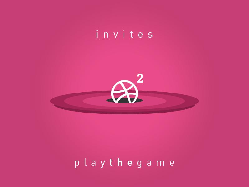 Dribbble Invites - play the game 2 invites purple play dribblers invites dribbble invitations dribbble invites