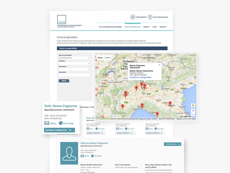 Vidice - UI/UX Design cleare blue clean pet uidesign health web ui ux website webdesign