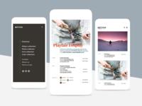 Mytico Mobile UI/UX design