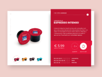 Coffe ecommerce product label