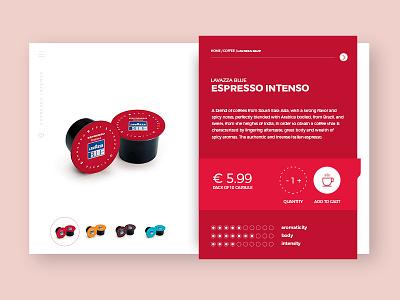 Coffee e-commerce ui product page product view shop minimal e-commerce ui design ux ui label product ecommerce
