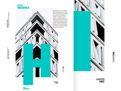 Helvetica Neue Poster contribute white ui typo poster minimal helvetica graphic design font bn blue black