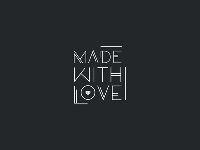 Made With Love logo design