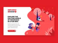 Microsite For HDFC Ergo- Insurance Quiz