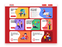 Microsite for HDFC ERGO- Homepage