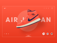 Shoe Product UI- Nike