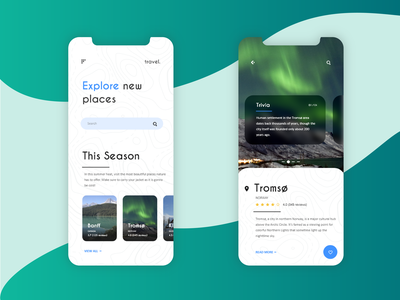 Travel App mobile app branding uidesign design ux ui