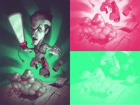 Evil Dead Duotone