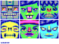 32x32 EGA Randomized Avatars