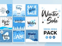 Winter Social Media Template
