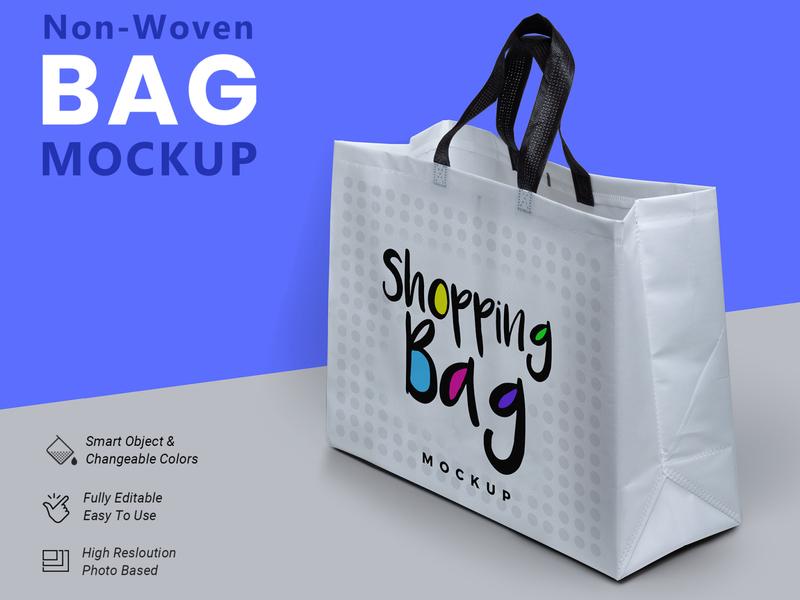 Non Woven Bag Mockup