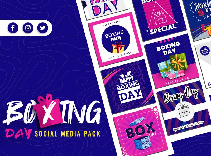 Boxing Day Social Media Pack