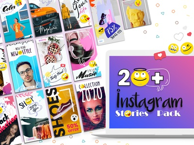 Instagram Stories Template shopping