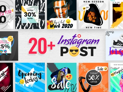 Instagram Post Template creative