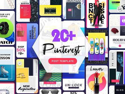 Pinterest Post Template onlineshopping