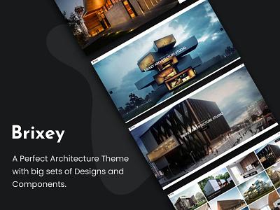 Brixey – Responsive Architecture WordPress Theme portfolio photography parallax multipurpose interior design house gallery engineering creative corporate construction business building company builder architecture