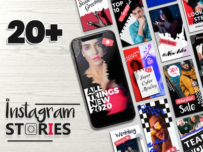 Instagram Stories Template templates template