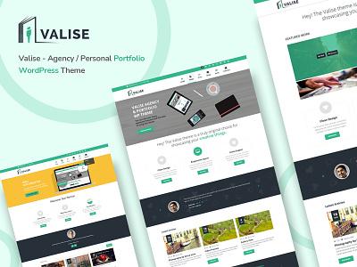 Valise - Agency / Personal Portfolio Theme wordpress widget-ready theme retina responsive ready portfolio personal html5 css3 creative clean business blog agency