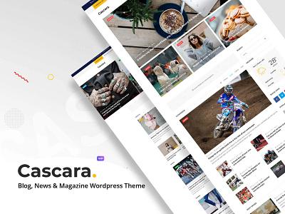 Cascara - Blog, News & Magazine WordPress Theme wpml