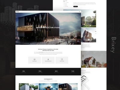 Brixey – Responsive Architecture WordPress Theme architecture builder building company business construction corporate creative engineering gallery interior design multipurpose portfolio