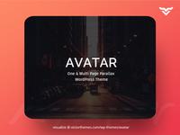 Avatar One & Multi Page Parallax WordPress Theme