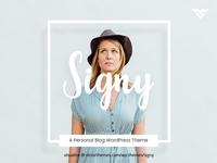 Signy A Personal Blog WordPress Theme
