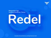Redel Responsive App Landing Wordpress Theme
