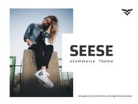 Seese Responsive eCommerce Theme