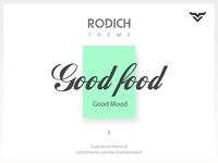 Rodich A Restaurant WordPress Theme