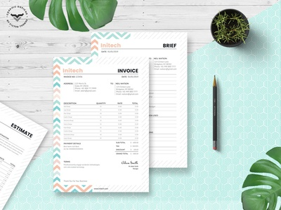 Corporate Brief - Estimation - Invoice Templates