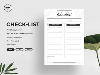 Minimal Check-List Planner