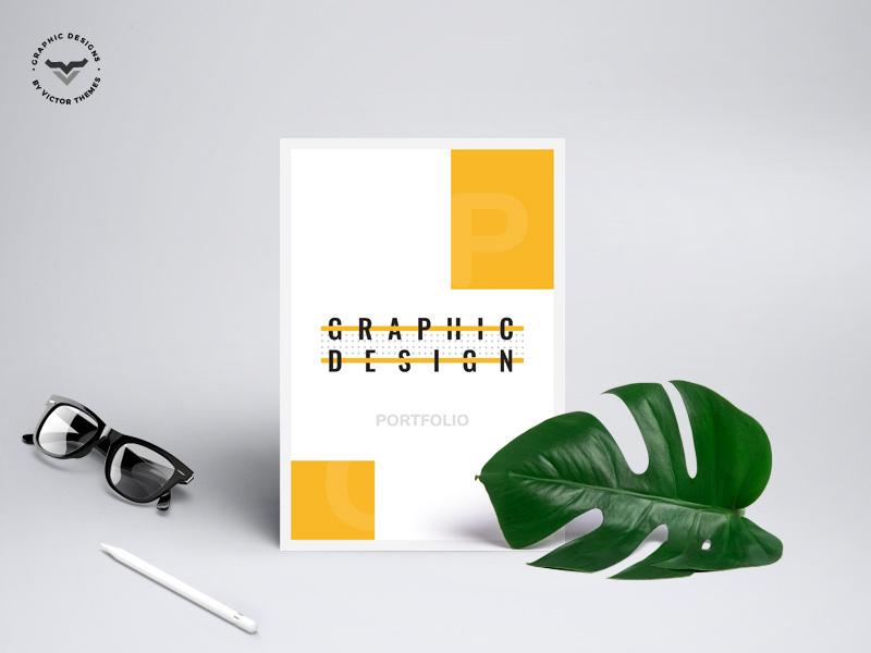 Graphic Designer Portfolio by VictorThemes on Dribbble