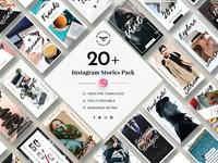 Instagram Stories Social Media Template