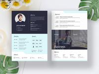 Creative Business CV Template
