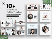 Social Media Fashion Templates