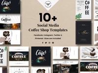 Social Media Coffee Shop Templates