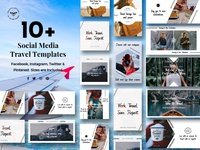 Social Media Travel Templates