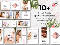 Social Media Spa/Salon Templates