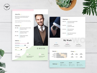 Graphic Designer CV Template